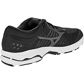 Mizuno Wave Stream Running Shoes Herr black/ombre blue/white